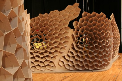 3d2real Mdf Honeycomb Structure Syn Thetic